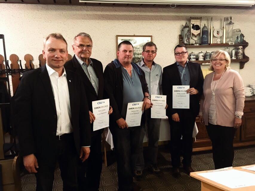 Jahreshauptversammlung CSU Pettendorf